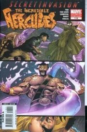 Incredible Hercules #118 2nd Second Print Variant (2008) Secret Invasion Marvel comic book